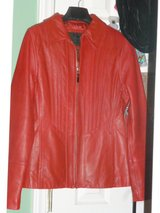 Avanti Genuine Leather red Jacket in Fort Bragg, North Carolina